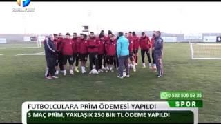 Kanal Fırat Spor - Futbolculara PRim Ödemesi Yapıldı