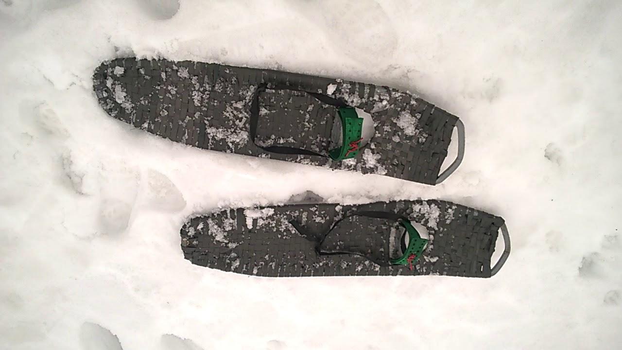 Снегоступы своими руками видео фото 969