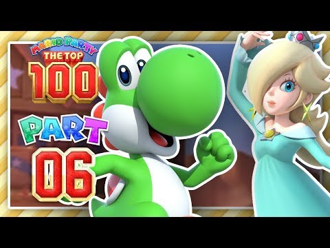 Mario Party The Top 100 - Part 6 - The Art of Button Mashing!