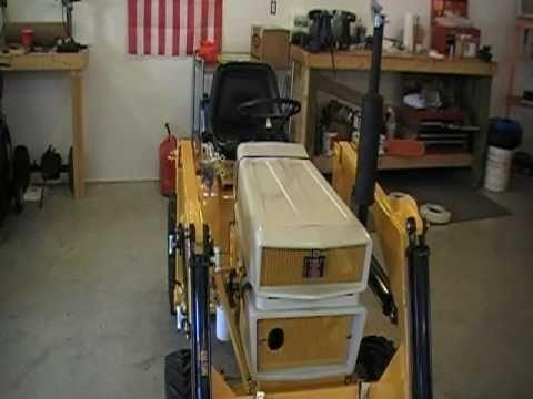 Cub cadet 1250 loader