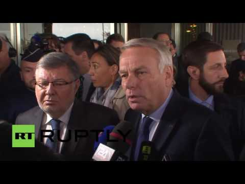 France: FM Ayrault gives update on missing EgyptAir flight MS804