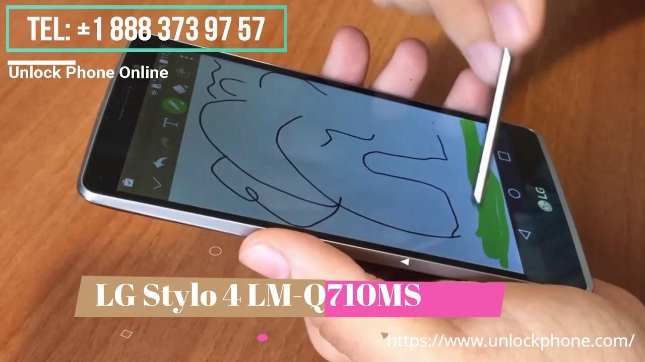 Cómo desbloquear LG Stylo 4 LM-Q710MS