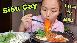 🇯🇵Thét Ra Lửa Với Nồi Lẩu Mì Cay Kim Chi Hải Sản Hàn Quốc Lần Đầu Ăn Sạch🤣 #268