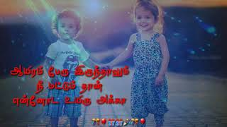 Sister Birthday Wishes Tamil Youtube