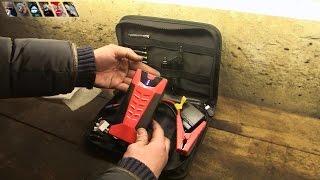 Портативное пусковое устройство / Car jump starter