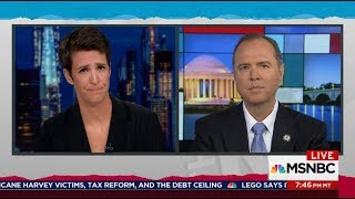 Rep. Schiff Discusses GOP Subpeonas Issued In Ploy to Hurt Russia Investigation on MSNBC