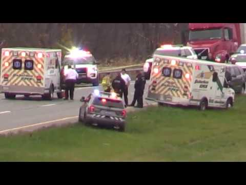 Pennsylvania State Trooper Shot During Traffic Stop - 11.7.17