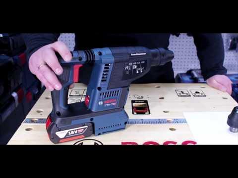 Видео обзор: Перфоратор аккум BOSCH GBH 18V-26 Solo без АКБ и ЗУ