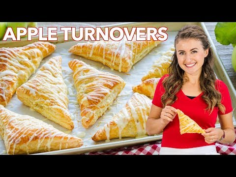 Easy Apple Turnover Recipe | Simple Glaze for Apple Turnovers