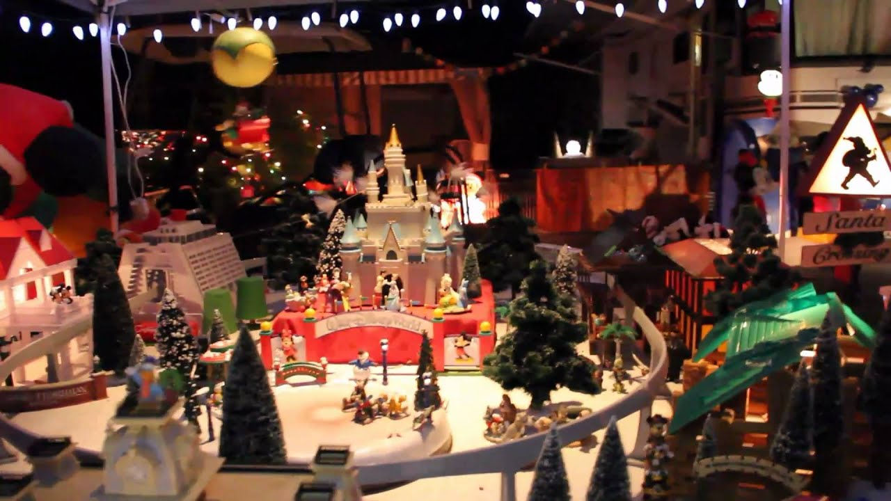 ft wilderness campground christmas decorations by disney fans staying at walt disney world youtube