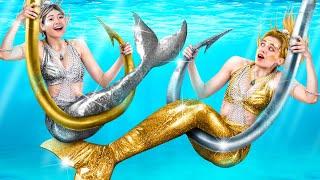 Золото vs серебро русалки!