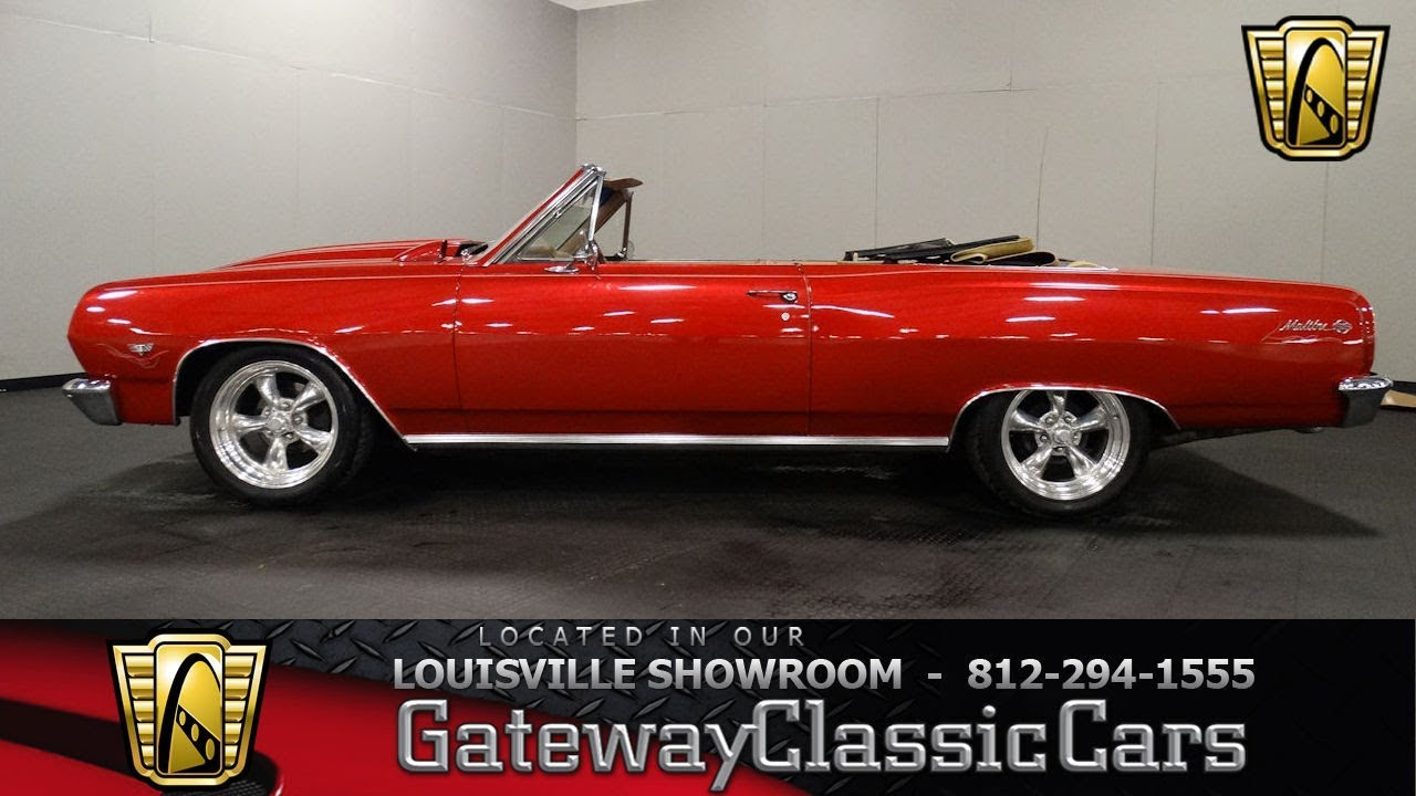 1965 Chevrolet Chevelle SS Convertible - Louisville Showroom - Stock #1749