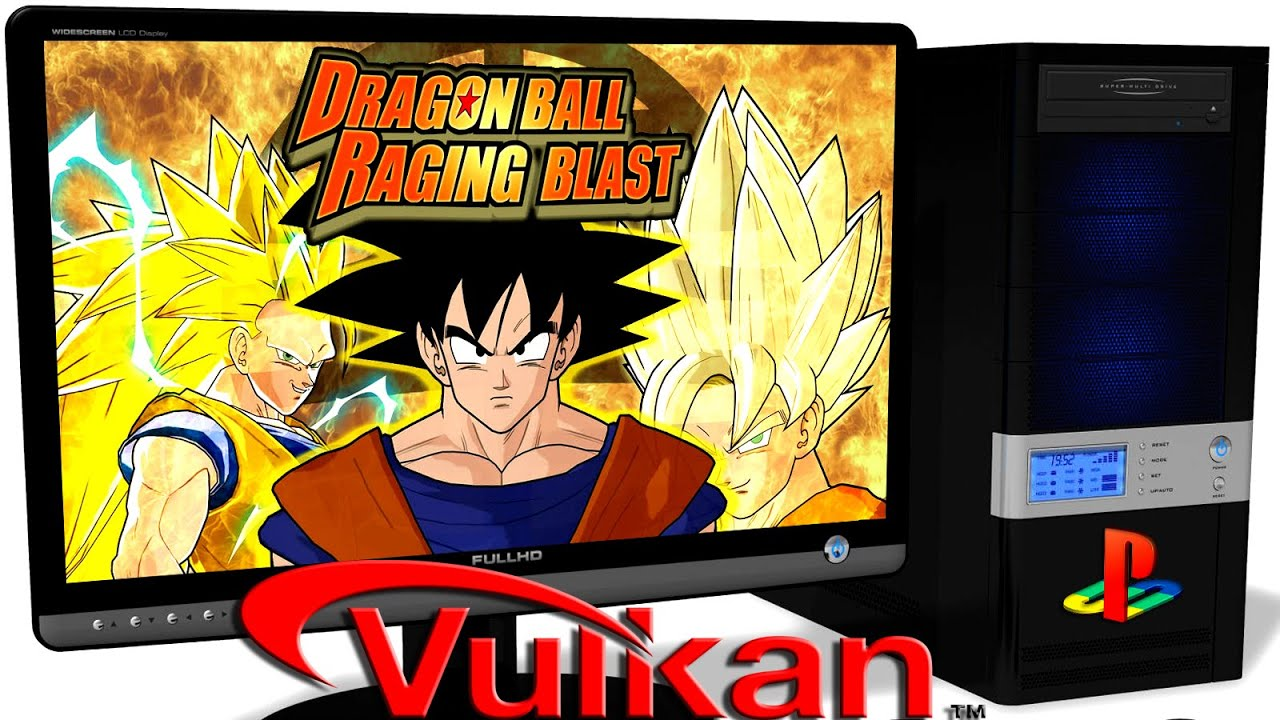 RPCS3 Playstation 3 Emulator - Dragon Ball: Raging Blast (2009)  Vulkan  api  Test run on PC #1