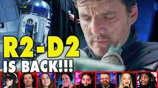 Reactors Reaction To Grogu Leaving With LUKE SKYWALKER On The Mandalorian Season 2 | Mixed Reactions
