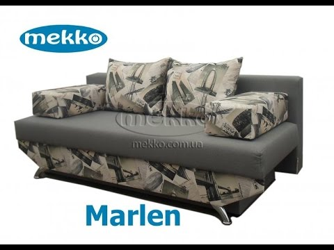 Мебель 7я | Угловой диван с механизмом еврокнижка - YouTube