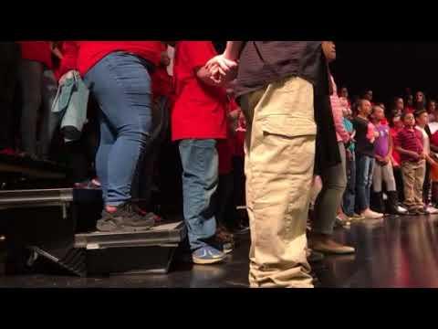 James Breckinridge Middle School Choir - Winter Concert - Part 3