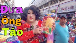 Cô Ú Đi Chợ Tết 2020 Đưa Ông Táo - Cô Ú Bình Dương