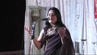 DR. ANU SAPAN in Durg kavi sammelan Part -3
