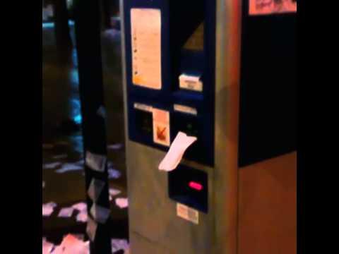 Терминал парковки в Краснодаре целый день печатает пустые чеки