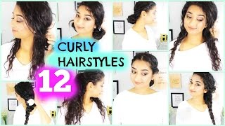 Curly Hairstyles/indian beauty guru/brownbeautysimor