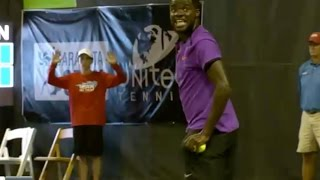 Tiafoe vs Krueger SEX & TENNIS & Rock & Roll
