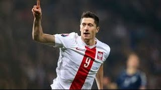 Gol de Lewandowski(1-0)Polonia vs Portugal