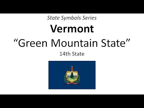 State Symbols Series - Vermont