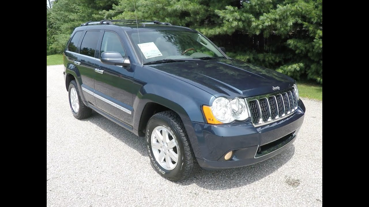 2009 jeep grand cherokee overland edition 4x4 p10419 youtube. Black Bedroom Furniture Sets. Home Design Ideas