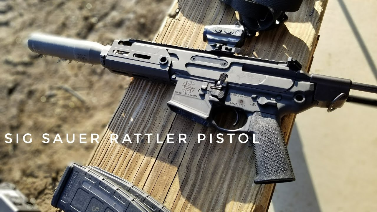 Sig Sauer Rattler MCX Pistol - 300 BLK