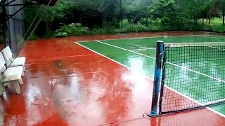 Khảo sát hiện trạng bảo trì sân tennis