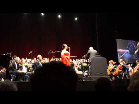 morricone live berlin 2015 O2 world - cinema for peace honorary award