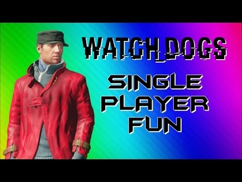 watch-dogs-funny-moments---photobomb,-big-car-explosion,-glitchy-body-(single-player-gameplay)