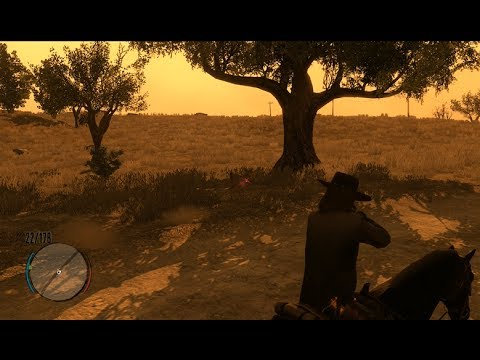 How to shoot multiple targets in Red Dead Redemption **NEW VIDEO!!**
