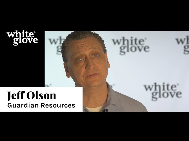 Jeff Olson | White Glove Testimonial
