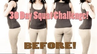 21-but Sug 30 Day Squat Challenge!