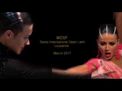 WDSF 2017 world dance sport federation  International open latin adult latin losanne - Final -