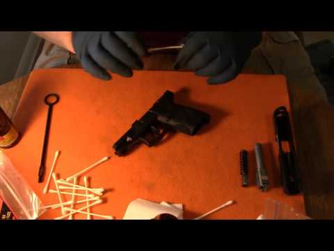 TAURUS PT 111 MILLENNIUM G2 //  FIELD STRIP // AND DETAILED CLEANING