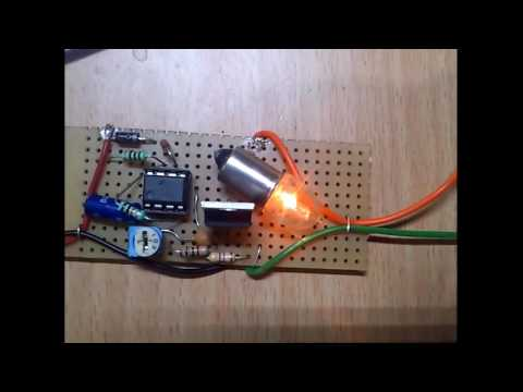 555 Timer Pwm Led Light Dimmer Circuit Youtube
