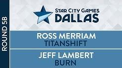SCGDFW: Round 5B - Timeshifted - Ross Merriam VS Jeff Lambert [Modern]