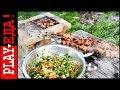 ТОП - 3 рецепта на углях. Идеи для шашлыка. Кухня на мангале