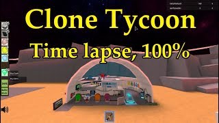 (ROBLOX) Time Lapse - Clone Tycoon 2