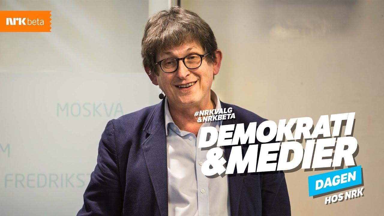 Alan Rusbridger hos NRK: Media, demokrati og tillit