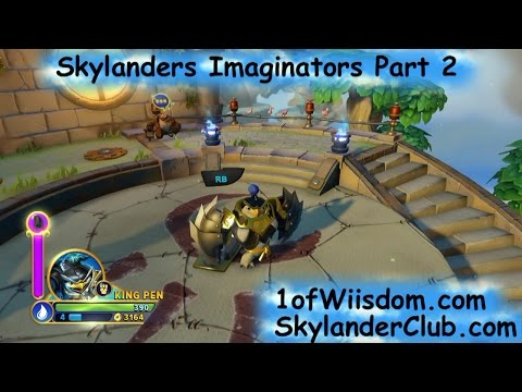 Skylanders Imaginators Part 2: Exploring the M.A.P., Saving
