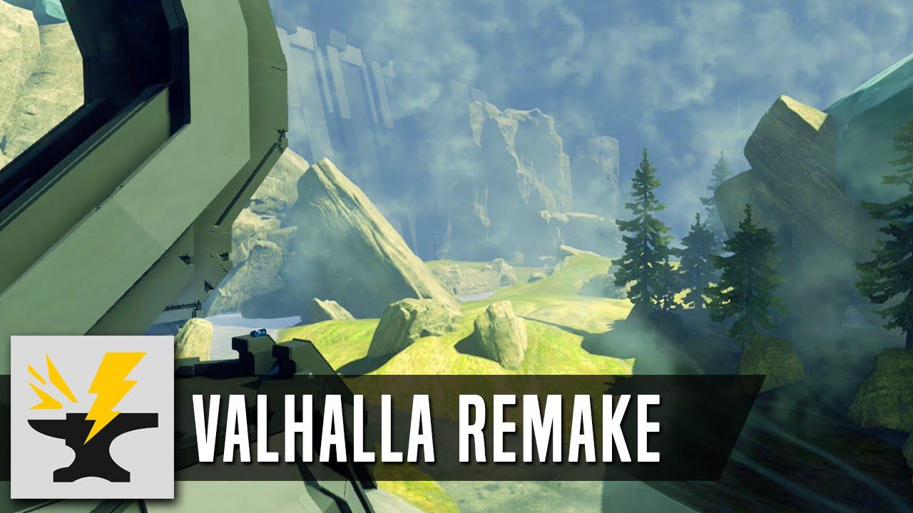 Halvalla - Halo 5 Forge Map (Valhalla Remake)