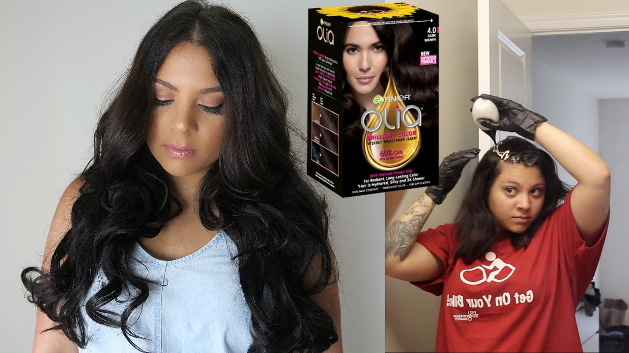 Touching Up My Hair | The Color I Use + How To Dye Your Hair At ...