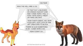 JASON SHOVES FEAR UP HIS ASS - EPIK FOX ANAL VORE STORY/ANIMAT…