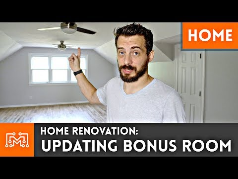 Updating Bonus Room // Home Renovation