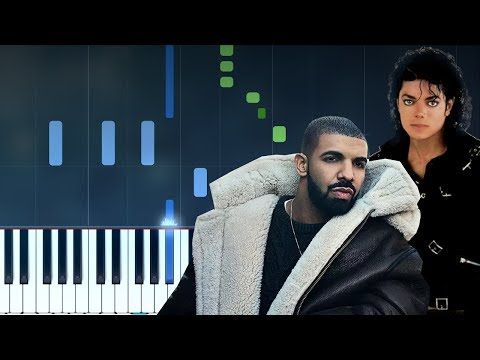 Drake - Don't Matter To Me ft. Michael Jackson  Piano Tutorial - Chords - How To Play - Cover