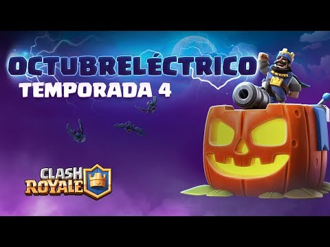 Clash Royale en Español: ¡Octubreléctrico!