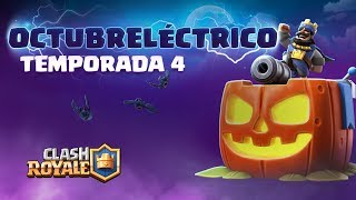 Clash Royale Temporada 4: ¡Octubreléctrico! 🎃🦇